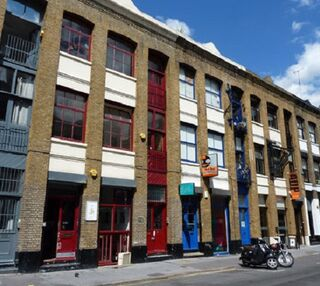 Leonard Street EC1 office space – Building External