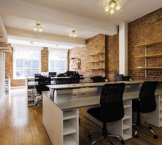 Leonard Street EC1 office space – Private Office (different sizes available).