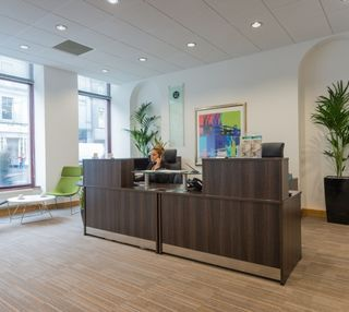 Union Street office space – Reception