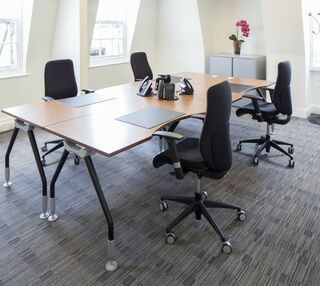 Grosvenor Street W1 office space – Private Office (different sizes available).