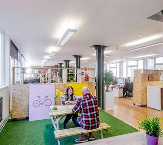 Bixteth Street L2 office space – Break Out Area
