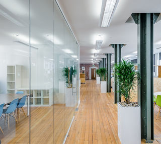 Bixteth Street L2 office space – Hallway
