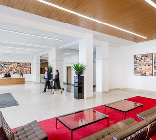 Bixteth Street L2 office space – Reception