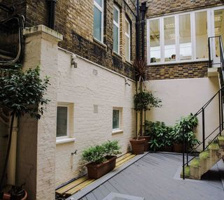 Southampton Place WC1 office space – Outdoor Area