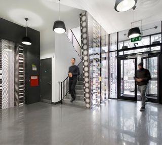 Whitechapel Road E1, EC3 office space – Foyer