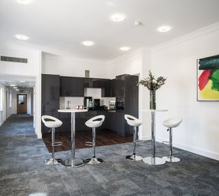 Brook Street W1 office space – Kitchen