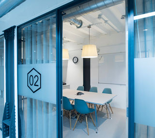 Fleet Street L2 office space – Meeting/Boardroom.
