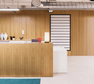 Fleet Street L2 office space – Reception