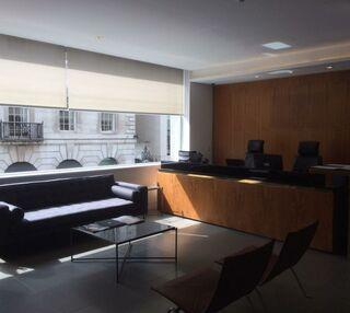 Grafton Street W1 office space – Reception