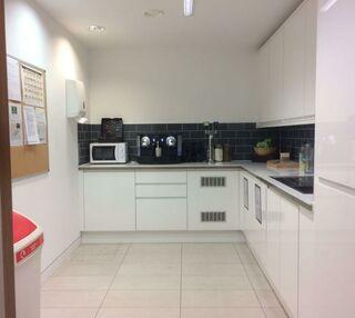 Grafton Street W1 office space – Kitchen
