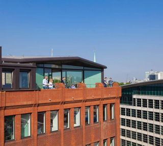 Harp Lane EC4 office space – Outdoor Area