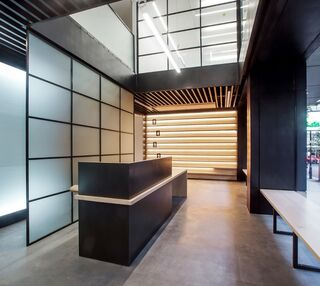 Procter Street WC1 office space – Reception