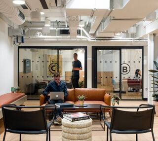 Finsbury Pavement EC2 office space – Break Out Area