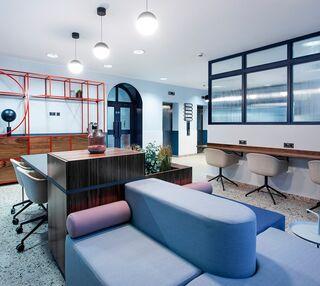 Moorfields L2 office space – Break Out Area