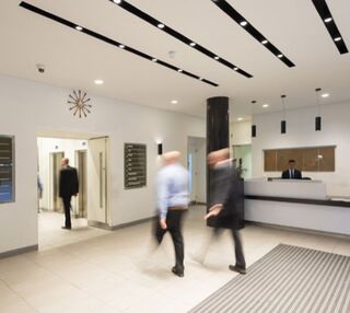 Eversholt Street NW1, W1 office space – Reception