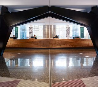 Baker Street NW1 office space – Reception