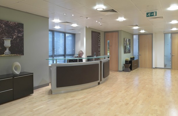 Temple Row B1 office space – Reception