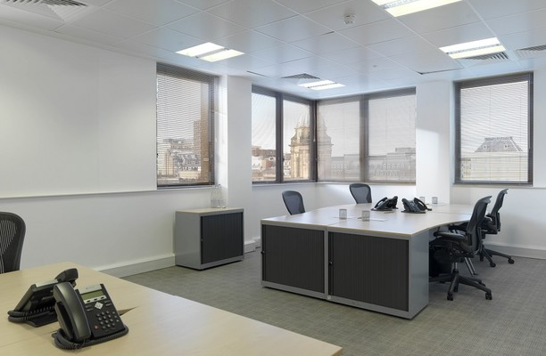 Temple Row B1 office space – Private Office (different sizes available).