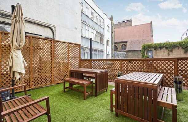 Old Marylebone Road NW1 office space – Outdoor Area