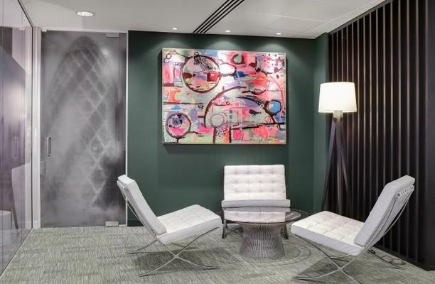 Lombard Street EC2 office space – Break Out Area