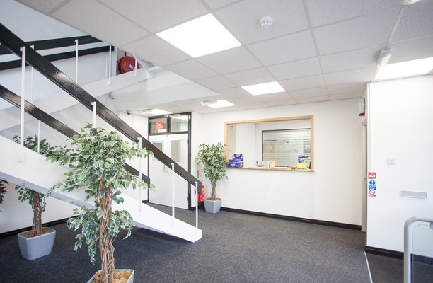 Greenhill  Crescent WD1, WD2 office space – Reception