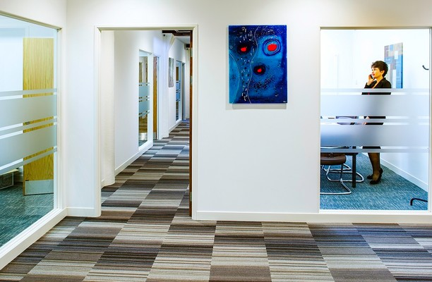 Ocean Village SO14 office space – Hallway