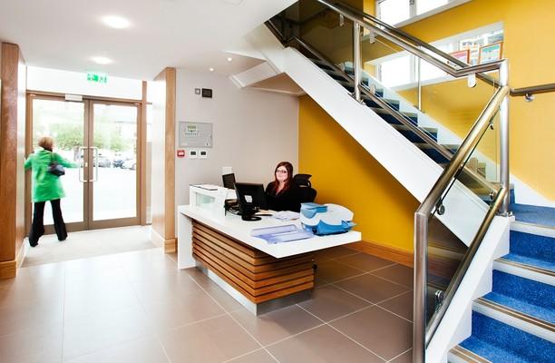 Ocean Village SO14 office space – Reception
