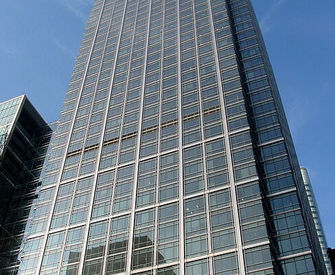 Canada Square E14, E16 office space – Building External