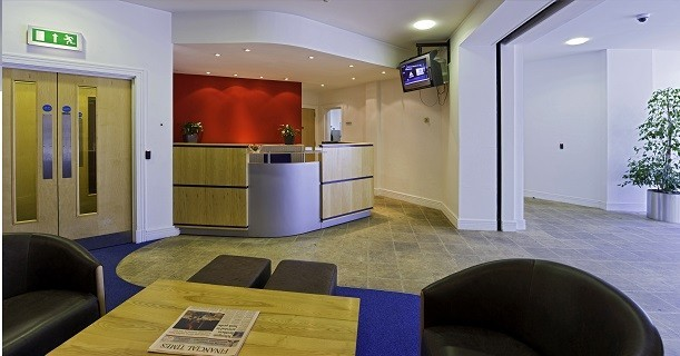 Berry Street office space – Reception