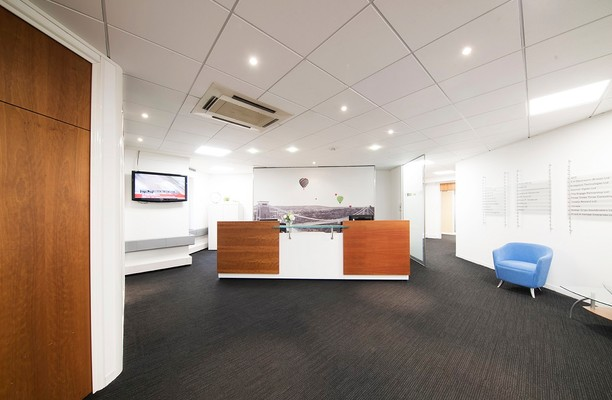 Prince Street BS1 office space – Reception