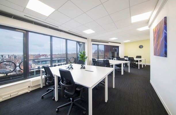 Prince Street BS1 office space – Private Office (different sizes available).