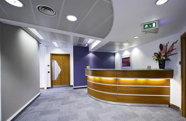Old Broad Street EC2 office space – Reception