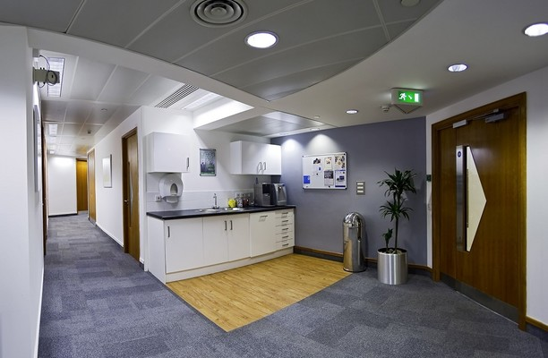 Old Broad Street EC2 office space – Kitchen