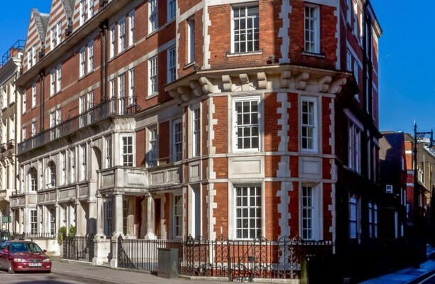 Brook Street W1 office space – Building External