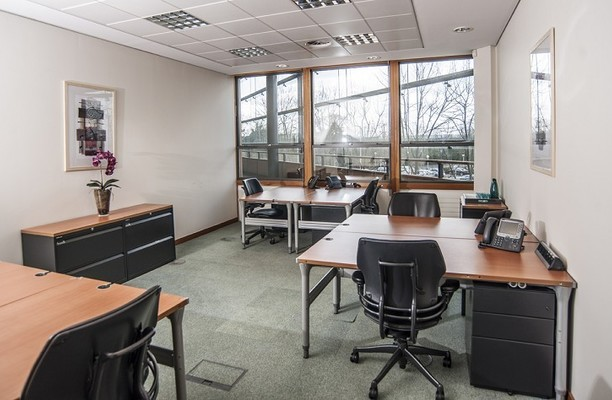 The Square UB11 office space – Private Office (different sizes available).