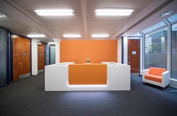 St Martins Le Grand EC1 office space – Reception