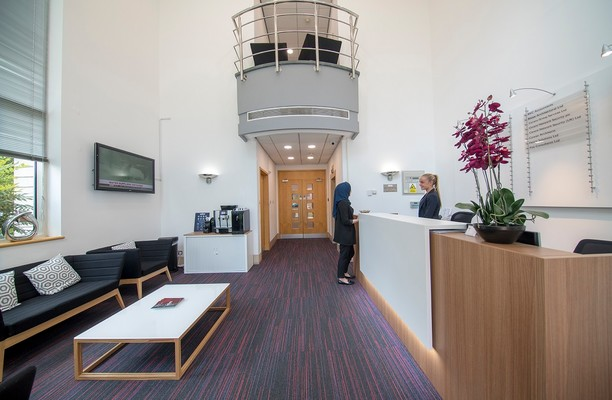Highbridge UB8 office space – Reception