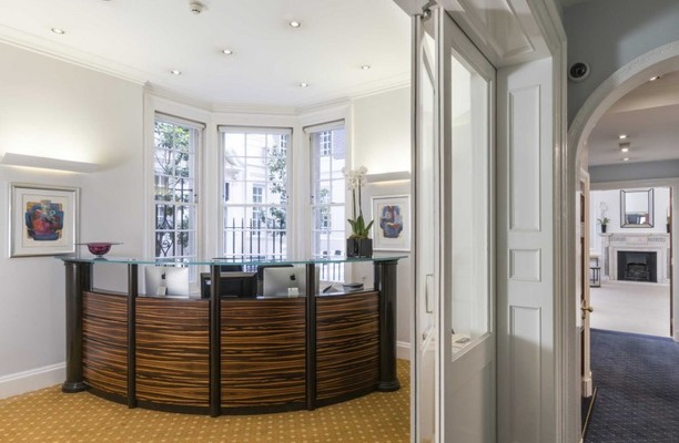 Brook Street W1 office space – Reception