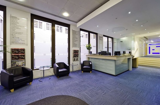 Long Acre WC2 office space – Reception