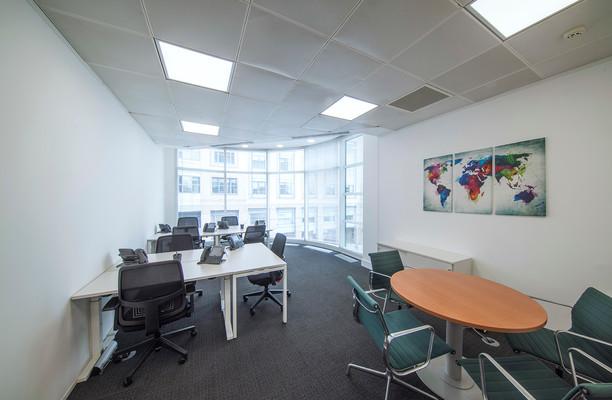 Queen Caroline Street W6 office space – Private Office (different sizes available).