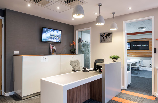 East Road CB1 office space – Reception