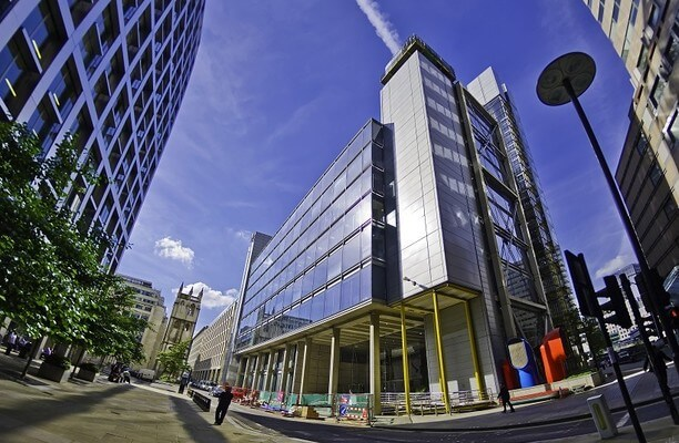 Wood Street EC1 office space – Building External