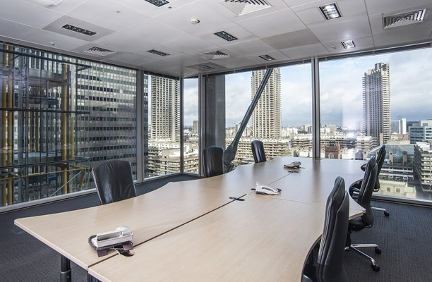 Wood Street EC1 office space – Meeting/Boardroom.