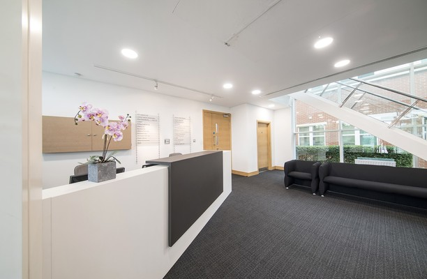 Capability Green LU1 office space – Reception
