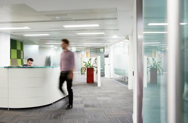 Ballards Lane N3 office space – Reception