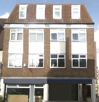 Finchley Road NW11 office space – Building External