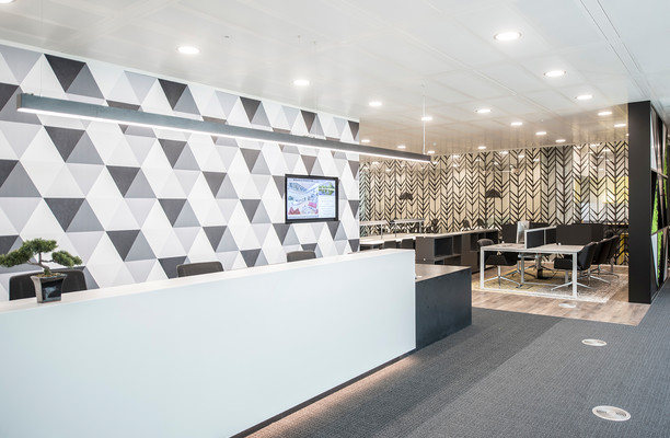 Chiswick High Road W4 office space – Reception
