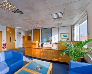 Stoke Road SL1, SL6 office space – Reception