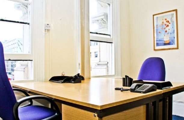 Queen Victoria Street EC4 office space – Private Office (different sizes available).
