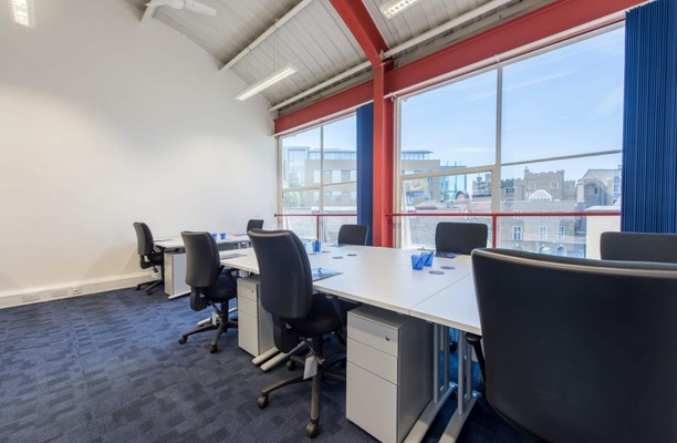 Westminster Bridge Road SE1 office space – Private Office (different sizes available).